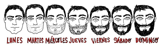 lunes a domingo barbas