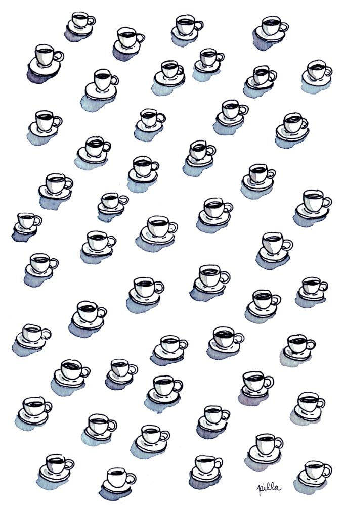 cafe pattern