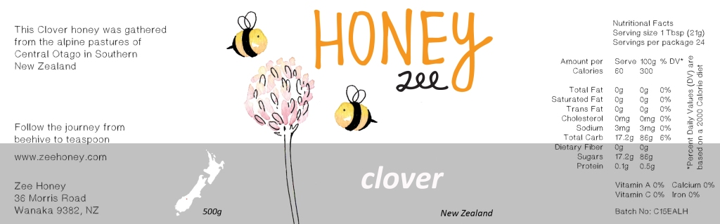 honey-label-clover-1
