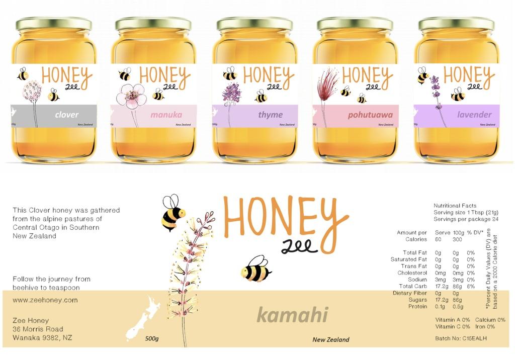 honey labels – marcelillapilla